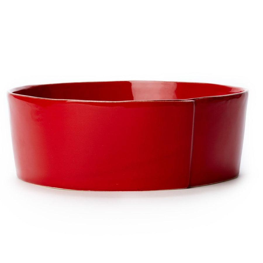 VIETRI: Lastra Red Large Serving Bowl