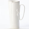 VIETRI: Lastra White Tavern Pitcher