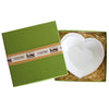 VIETRI: Lastra White Heart Dish With Gift Box