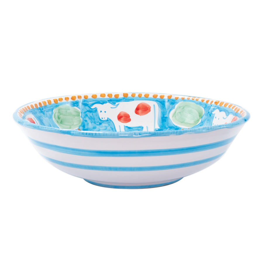 VIETRI: CAMPAGNA Mucca Large Serving Bowl