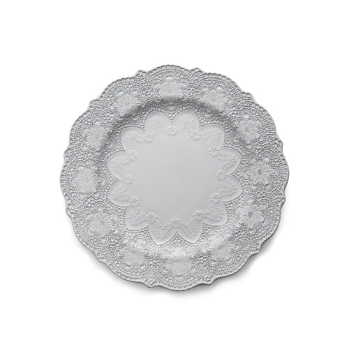 ARTE ITALICA: Merletto White Dinner Plate