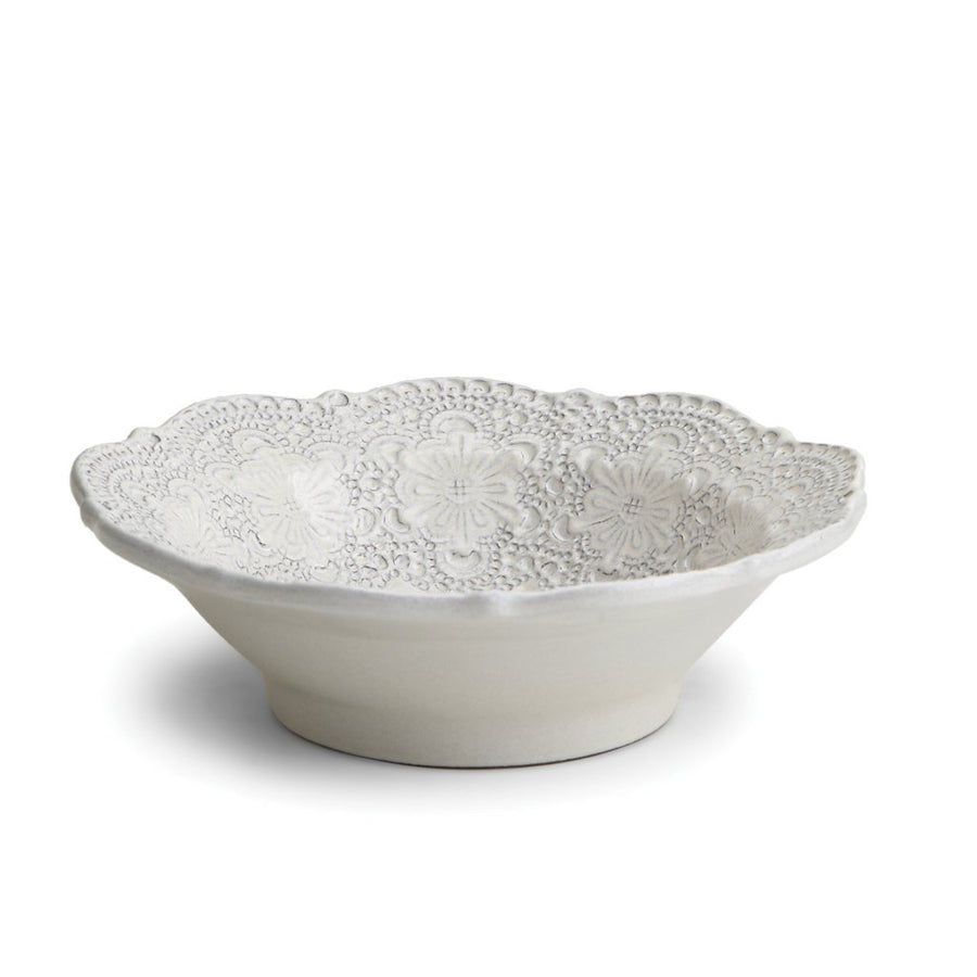 ARTE ITALICA: Merletto Antique Cereal Bowl