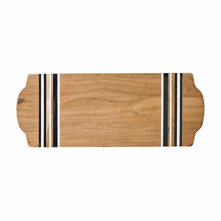 JULISKA: Stonewood Stripe Large Serving Board
