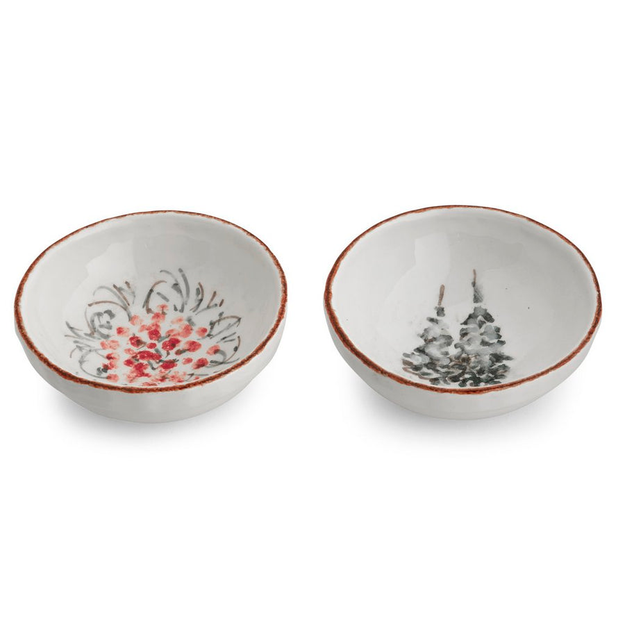 ARTE ITALICA: Natale Small Dipping Bowl Set