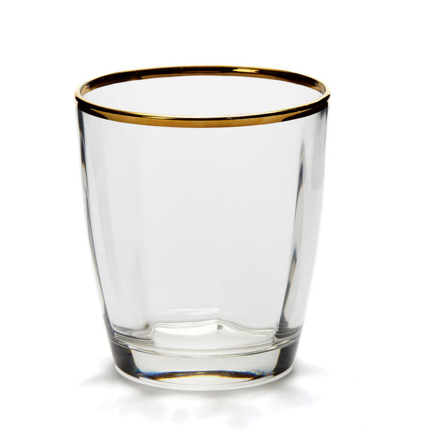 VIETRI: Optical Gold Double Old Fashioned
