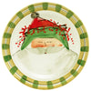 VIETRI: Old St Nick Green Hat Dinner Plate