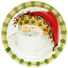 VIETRI: Old St Nick Animal Hat Dinner Plate