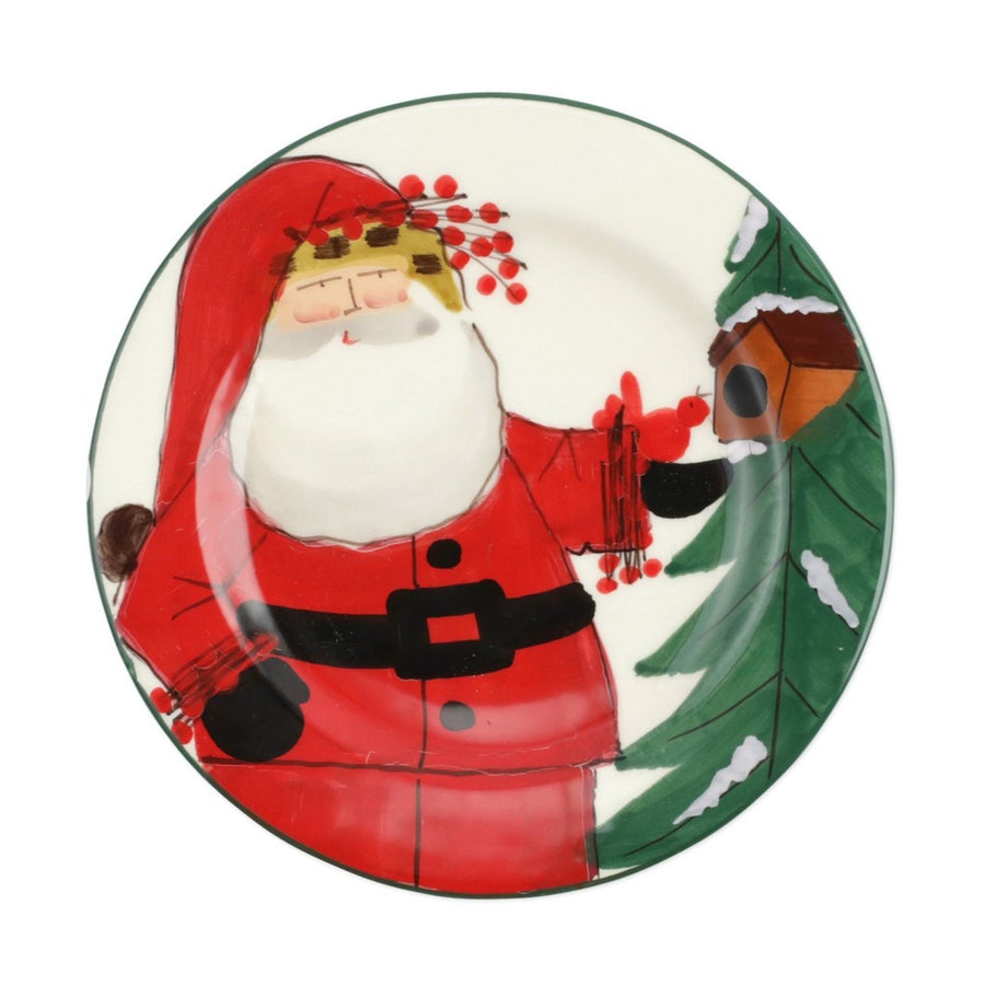 VIETRI: OLD ST. NICK 2020 LIMITED EDITION SALAD PLATE