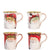 VIETRI: Old St Nick Asst Mug 14 OZ (Set of 4)