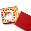 VIETRI: Old St Nick Square Plate with Spreader (In Gift Box)