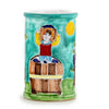 LA MUSA: Utensil Holder Sicilian Grape Harvest