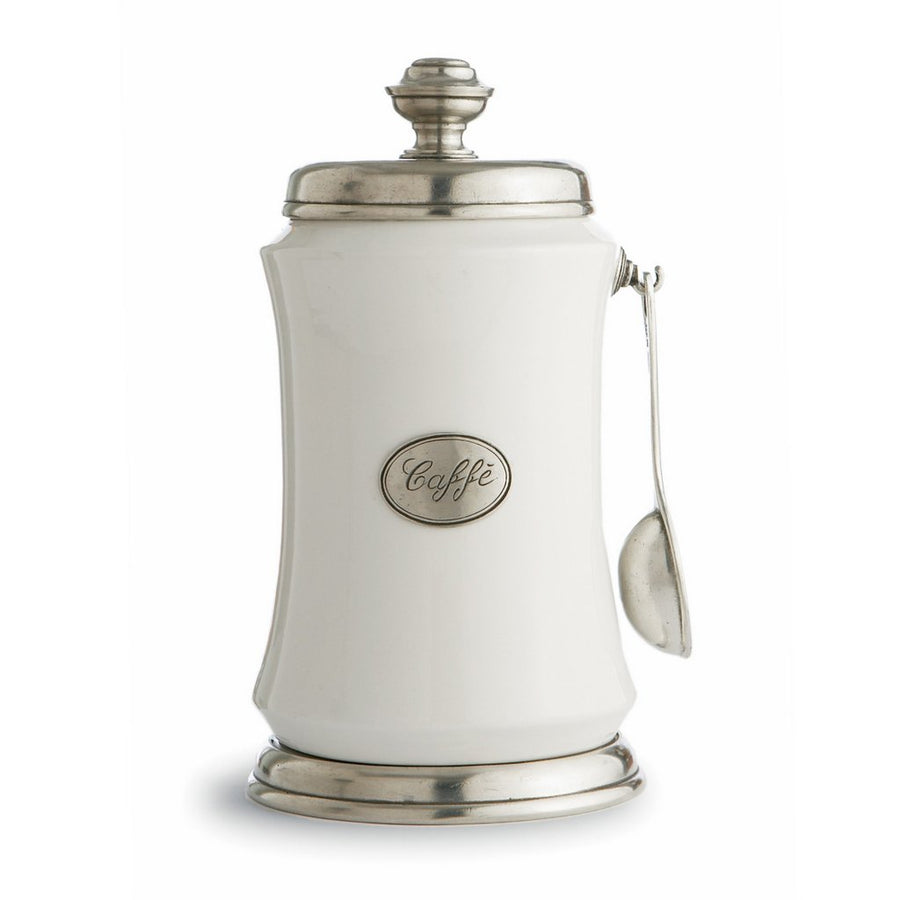 ARTE ITALICA: Tuscan Coffee Canister with Spoon
