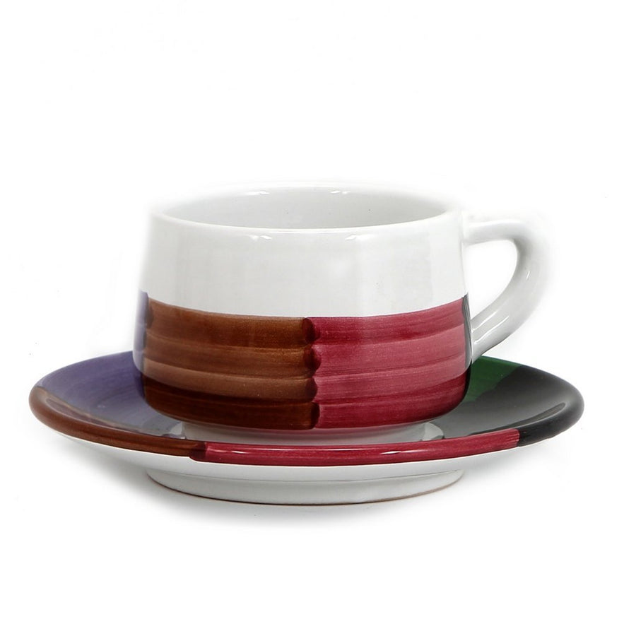 PANORAMA: Cup and Saucer (Bundle of 4 Pcs) [R]