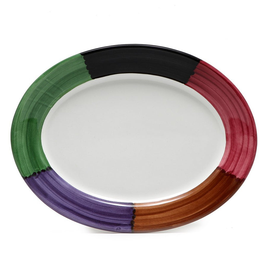 PANORAMA: Serving Oval Platter