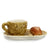PERIGRAPPA: Caffe-Latte Cup and Croissant Saucer [R]