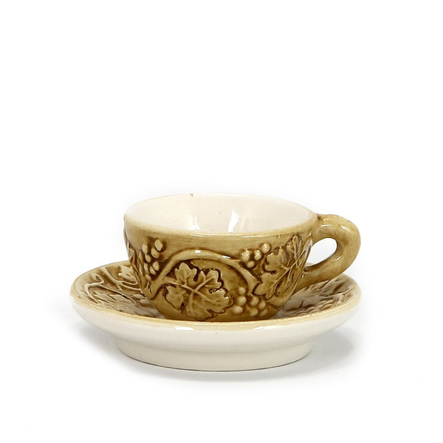 PERIGRAPPA: Espresso cup and Saucer