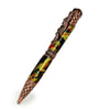 ART-PEN: Handcrafted Luxury Twist Pen - RAFFAELLESCO DRAGON Copper with Rainbow Copper and Green body