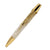 ART-PEN: Handcrafted Luxury Twist Pen - POLARIS 24 Kt Gold with Faux Mother of Pearl Acrylic body