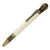 ART-PEN: Handcrafted Luxury Twist Pen - Deruta Perugino - Ant. Brass with Artisan Casein body.