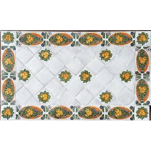 ANTICA DERUTA: WALL PANEL BACKSPLASH DELLA ROBBIA DESIGN