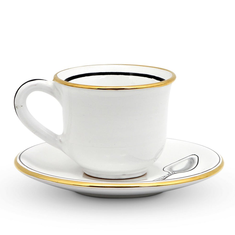 POSATA: Cup and Saucer Set