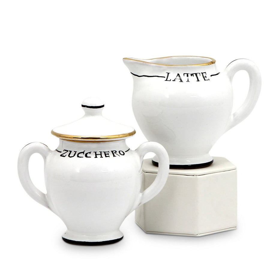 POSATA: Sugar and Creamer Set [R]