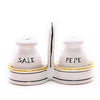 POSATA: Salt and Pepper cruet set with caddy
