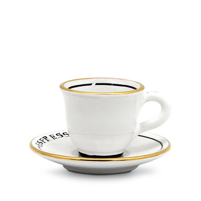 POSATA: Espresso Cup and Saucer set [R]