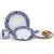 ARABESCO BLU: 4 Pieces Place Setting