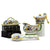 RAFFAELLESCO: Bundle with Butter Dish + Sauce Boat + Parmesan Bowl + Spoon Rest