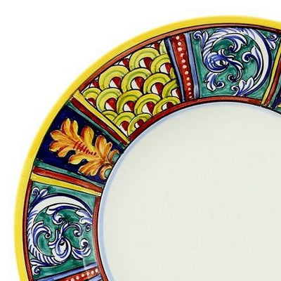 ELENA Deruta Deluxe: 3 Pcs Pre Pack: Dinner Plate and Pasta Bowl and Salad Plate