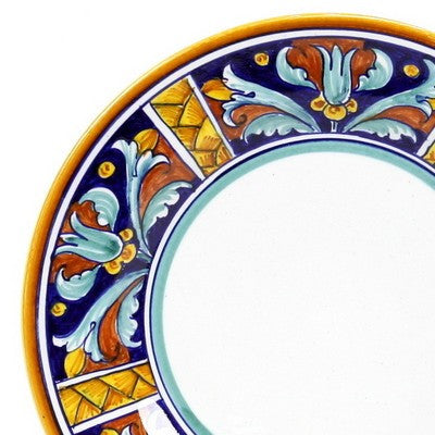 EXCELSIOR Deruta Deluxe: 3 Pcs Pre Pack: Dinner Plate and Pasta Bowl and Salad Plate