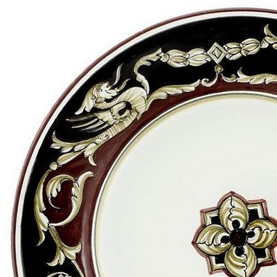 POMPEI Deruta Deluxe: 3 Pcs Pre Pack: Dinner Plate and Pasta Bowl and Salad Plate