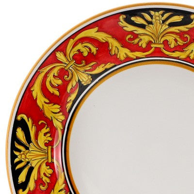 REGAL Deruta Deluxe: 3 Pcs Pre Pack Dinner Plate + Pasta Bowl + Salad Plate