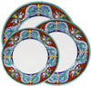 ROYALE Deruta Deluxe: 3 Pcs Pre Pack: Dinner Plate and Pasta Bowl and Salad Plate