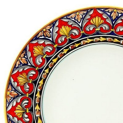 TODI Deruta Deluxe: 3 Pcs Pre Pack: Dinner Plate and Pasta Bowl and Salad Plate