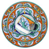 ROYALE Deruta Deluxe: 3 Pcs Pre Pack: Dinner Plate and Salad Plate and Mug