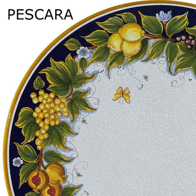 "LAZY SUSAN: Ceramic-Stone Rotating Lazy Susan 20"" Diam. [For Large Tables cm 150 (59"")]"