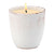 VECCHIA TOSCANA: Large Candle Antique White (12 Oz)