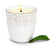 Garden MINT Scented Candle - Vecchia Toscana large ceramic in Antique White (12 Oz)