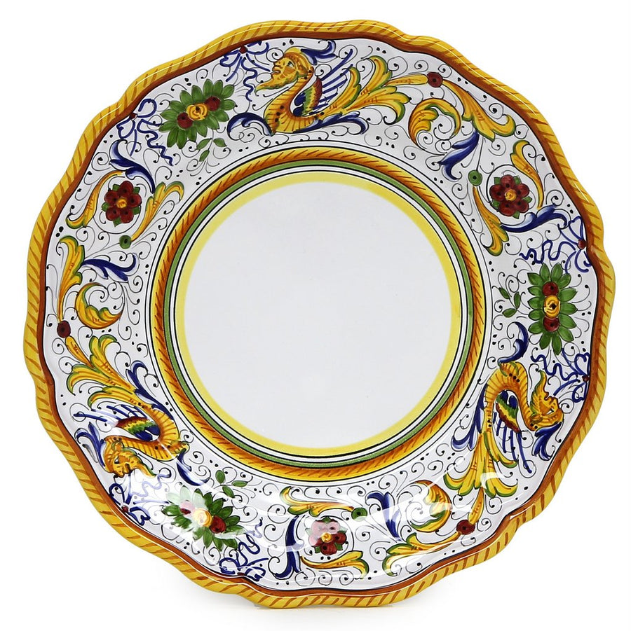 RAFFAELLESCO: 3 Pieces Place Setting (White Center)