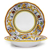 RAFFAELLESCO: Rim Pasta Soup Bowl - White Center