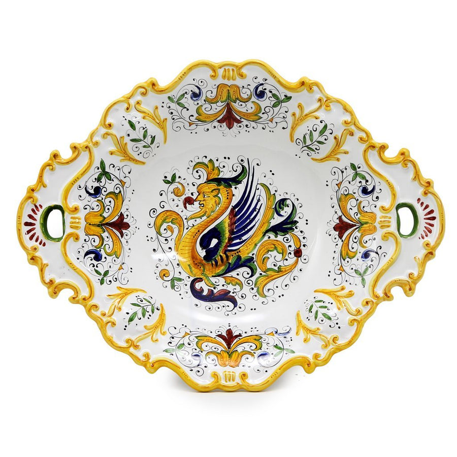 RAFFAELLESCO DELUXE: Oval Tray with Handles [R]