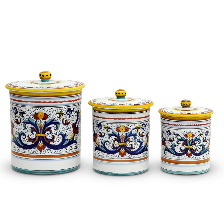 RICCO DERUTA DELUXE: Canister Set (3-Pcs) [MED+LG+XLG]