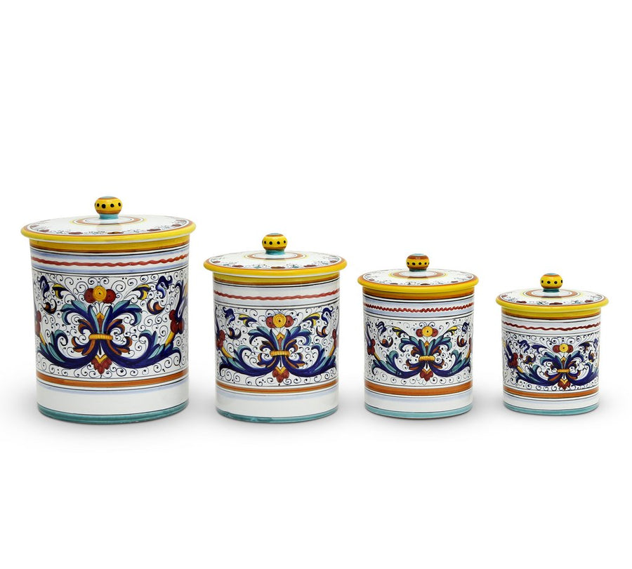 RICCO DERUTA DELUXE: Canister Set (4-Pcs)