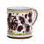 ORVIETO RED ROOSTER: Mug (10 Oz)