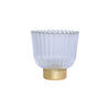 VIETRI: Rufolo Glass Gold Antique Votive