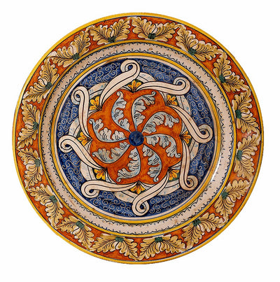 SICILIANA: Large Wall Plate (24D)