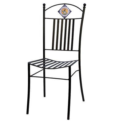 PALIO DI SIENA: Wrought Iron Chair