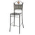 "PALIO DI SIENA: Wrought Iron Chair - Tall Bar-Pub (41"" H.)"